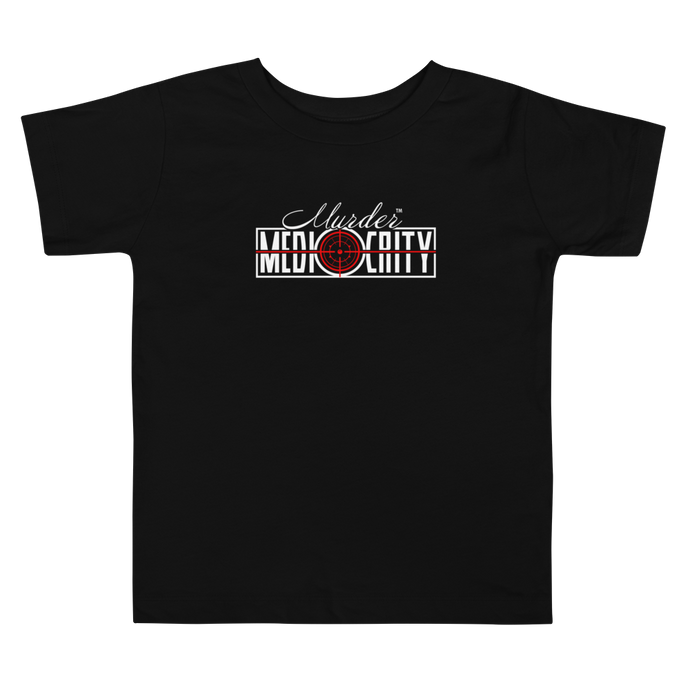 Toddler Short Sleeve - Murder Mediocrity Tee