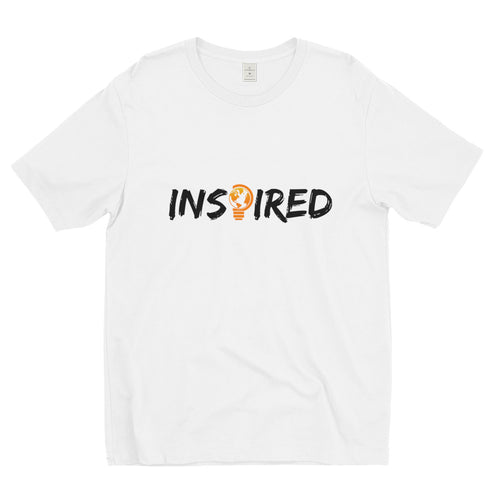 INSPIRED Short sleeve men's T-Shirt - White