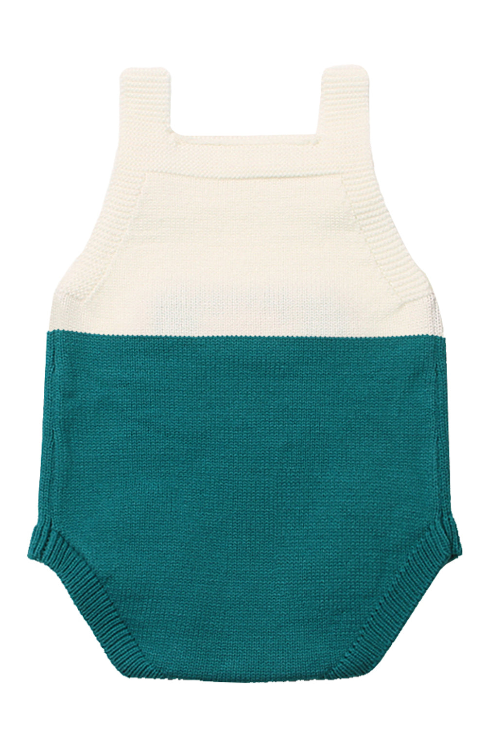 Mint Little Mouse Cotton Bodysuit Sleeveless Baby Suit