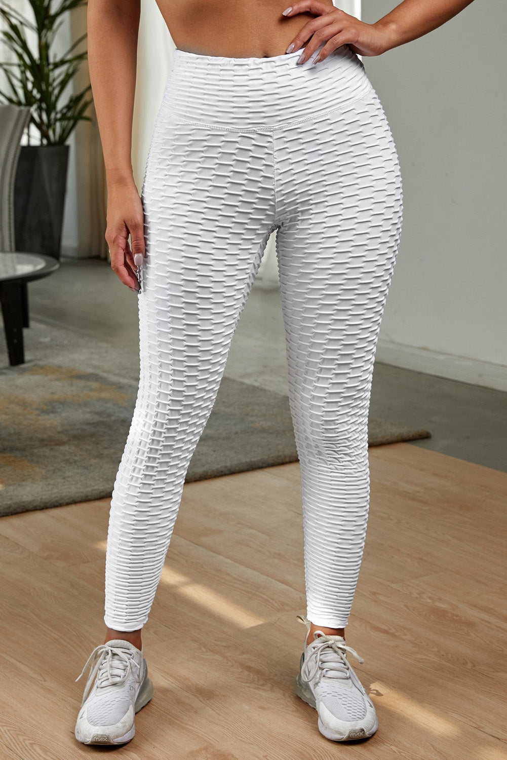 White Perfect Shape Leggings