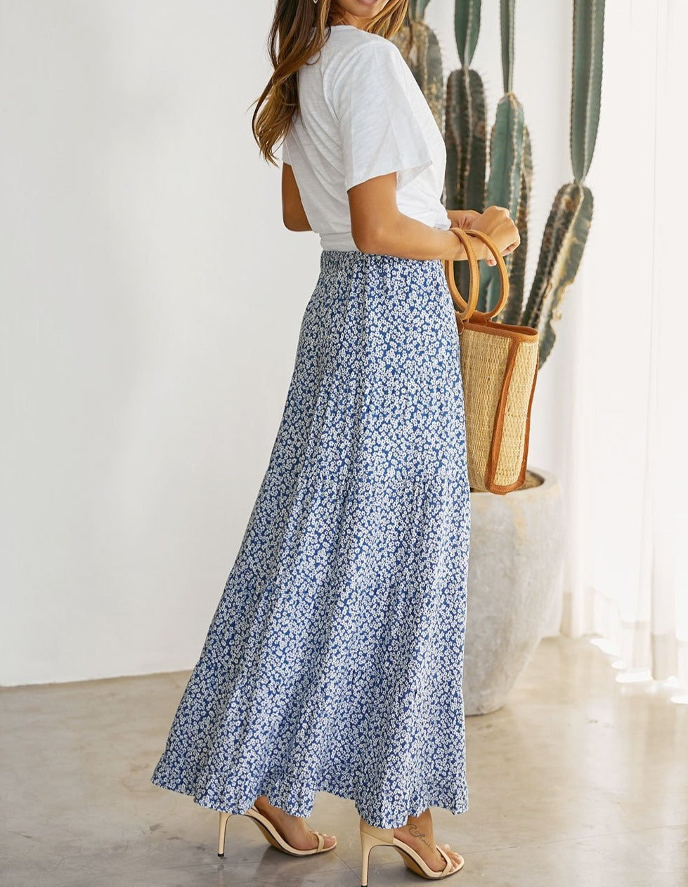 Sky Blue Traveller Skirt