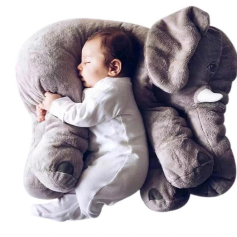 The Adorable Chonky Elephant Pillow