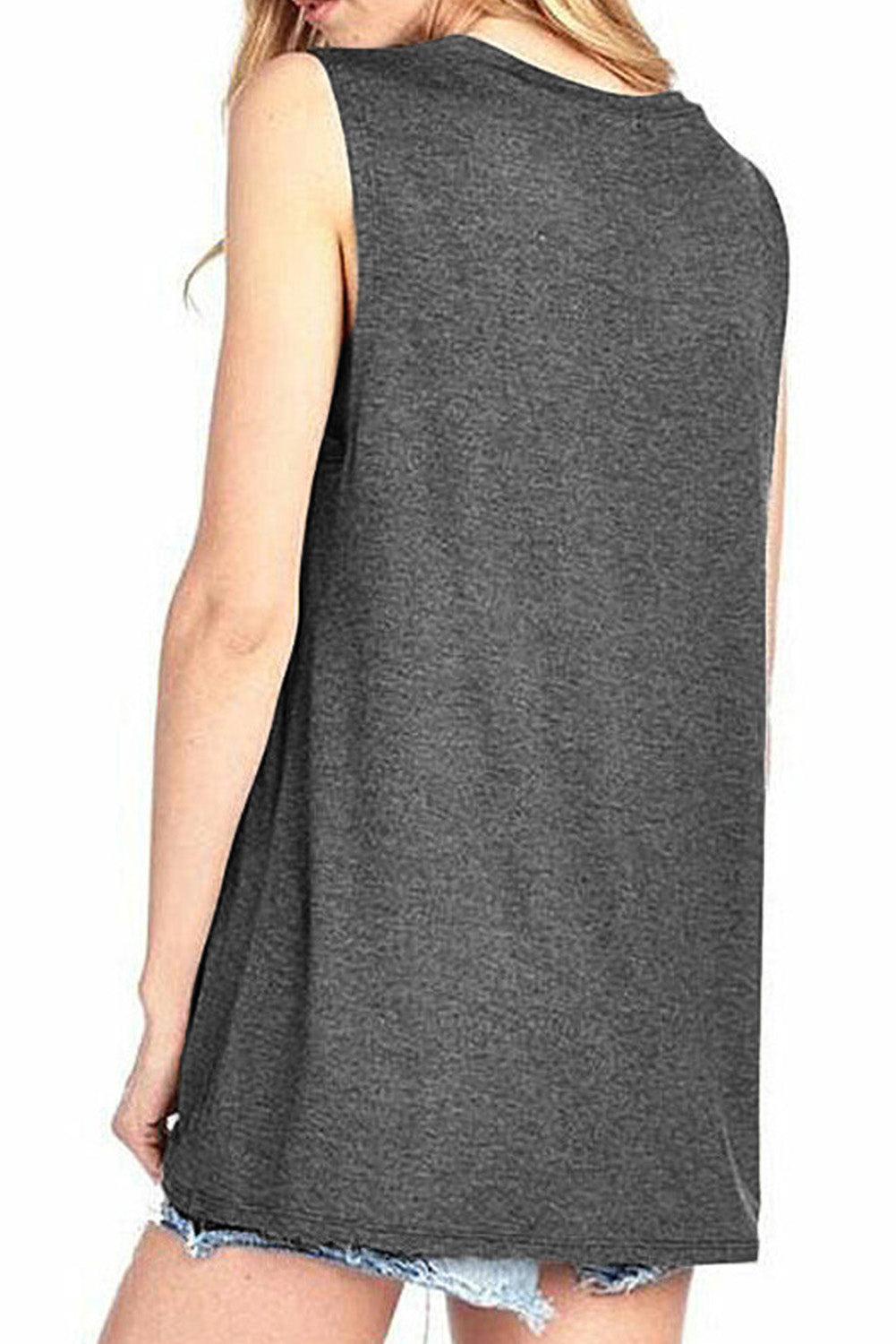 Beer Me Casual Gray Tank