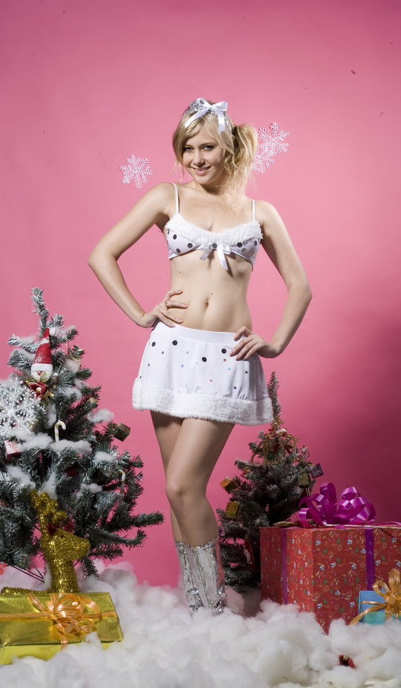 Glitter Snowflake holiday Lingerie