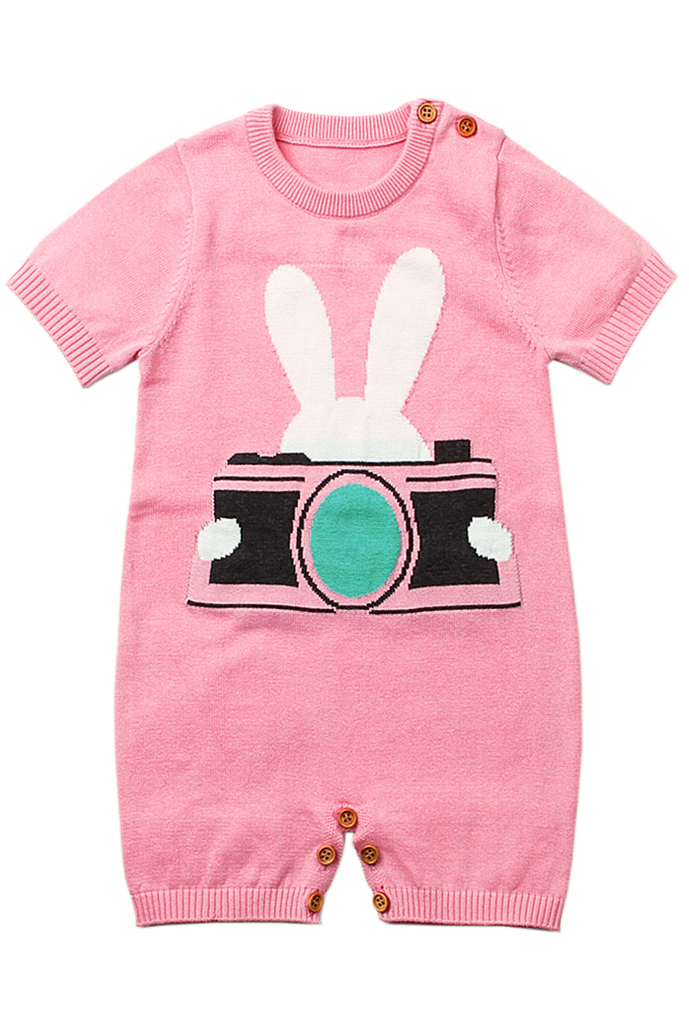 Pink Rabbit Photography Baby T-shirt Onesies