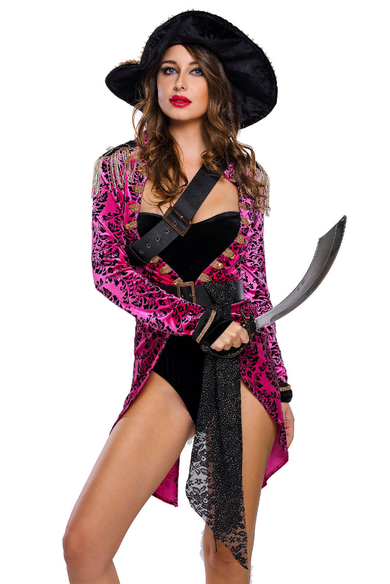 Sexy Swashbuckler Halloween Pirate Costume