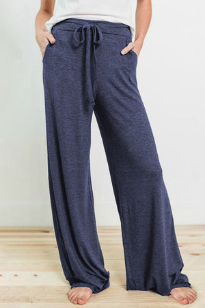 Navy Drawstring Lounge Pants