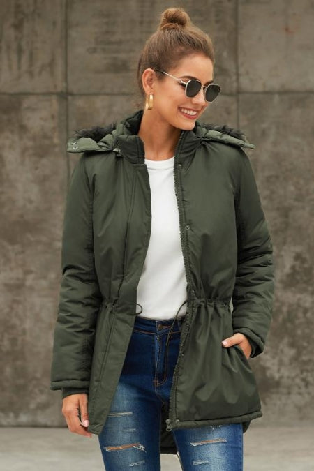 Green Breitenbush Hooded Parka