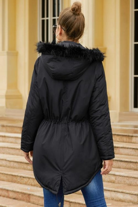 Black Breitenbush Hooded Parka