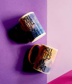 Small titties big heart mug - Blue/pink