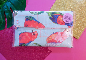 Midi clutch - Bird of Parrot - dise