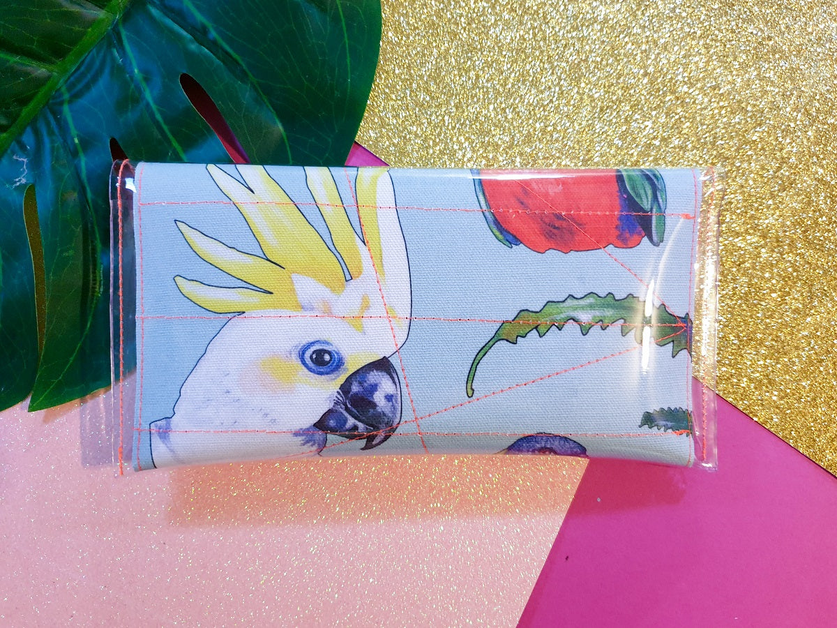 Mini clutch - Bird of Parrot - dise
