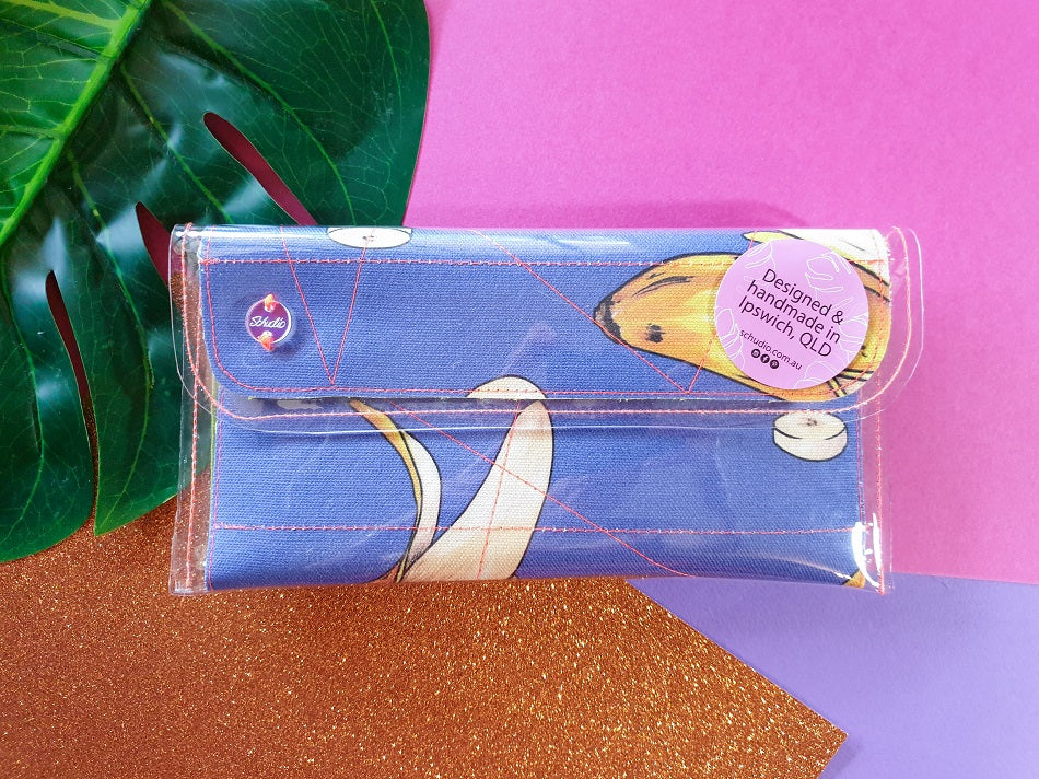 Mini clutch - Nanarama (sky blue)