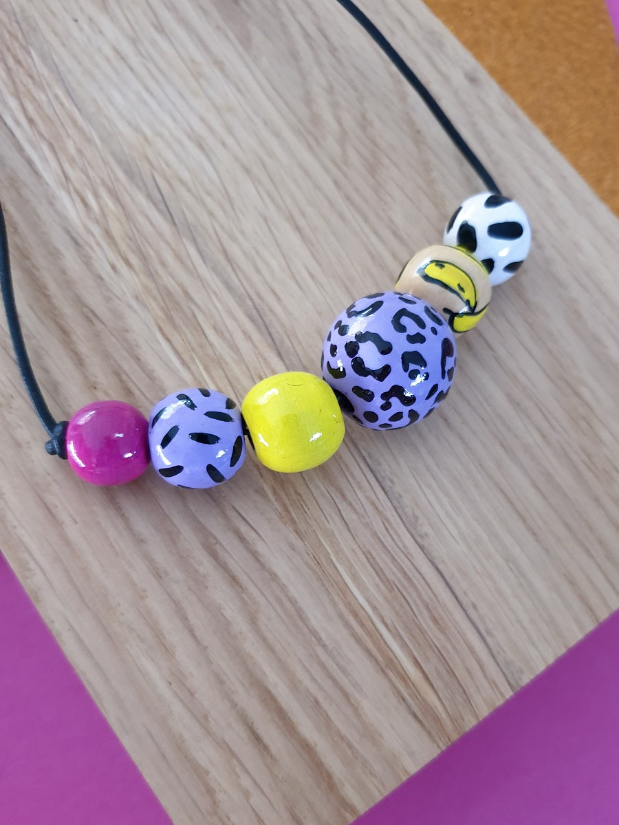 Neon Gelato necklace