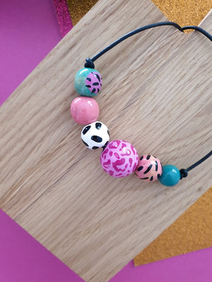 Pink Gelato necklace