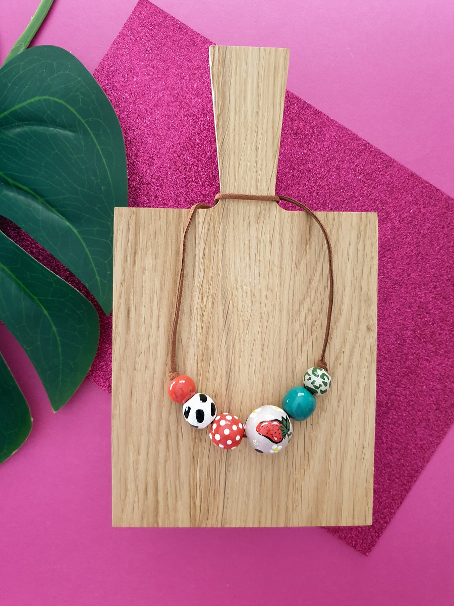 Strawberry Fields forever necklace