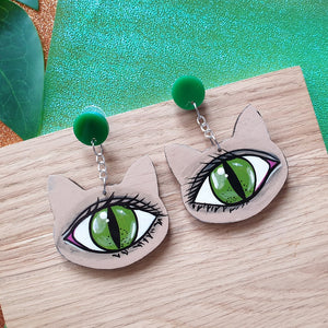 'Cats eye' - dangles