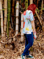 Birds of Parrot - dise in the Rebel Tee - JERSEY COTTON