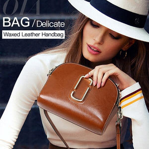 Delicate Waxed Handbag