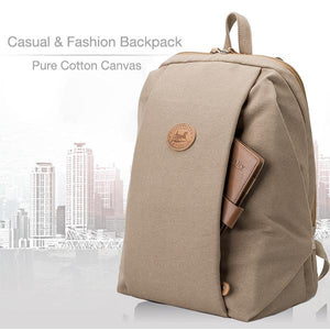 Multifunctional Canvas Backpack Casual Laptop Backpack