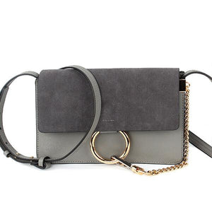 Circle Ring  Messenger Shoulder Bag