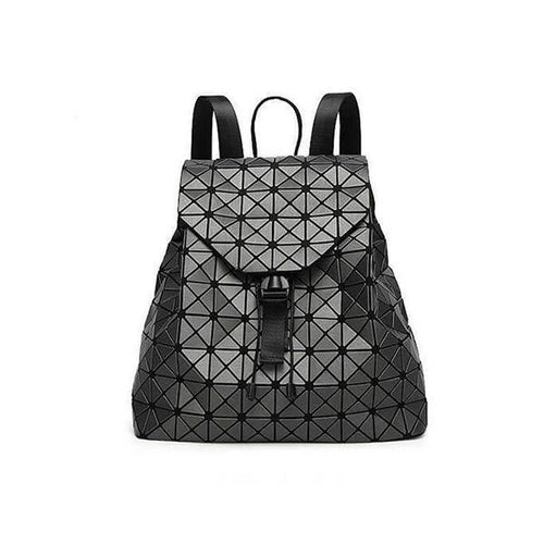 Fashion Geometry Pattern Backpack