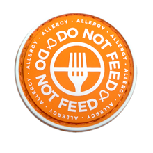 Do Not Feed patch to be used on medical bag, backpacks and other bags. Can be used where you use moral patches.