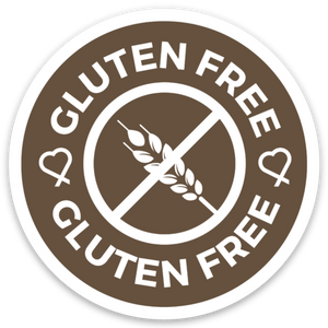 Gluten-Free Sticker Packs