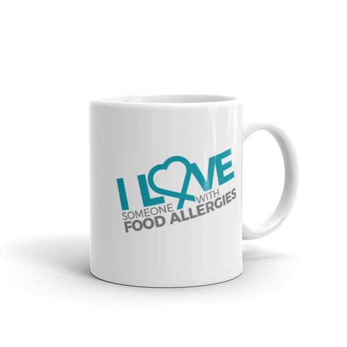 I love Someone with Food Allergies Mug