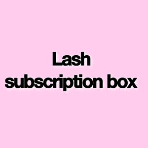 Lash subscription box!