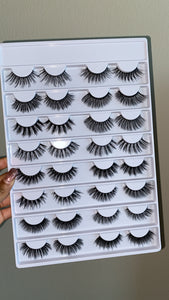 Second edition 16 pair lash book