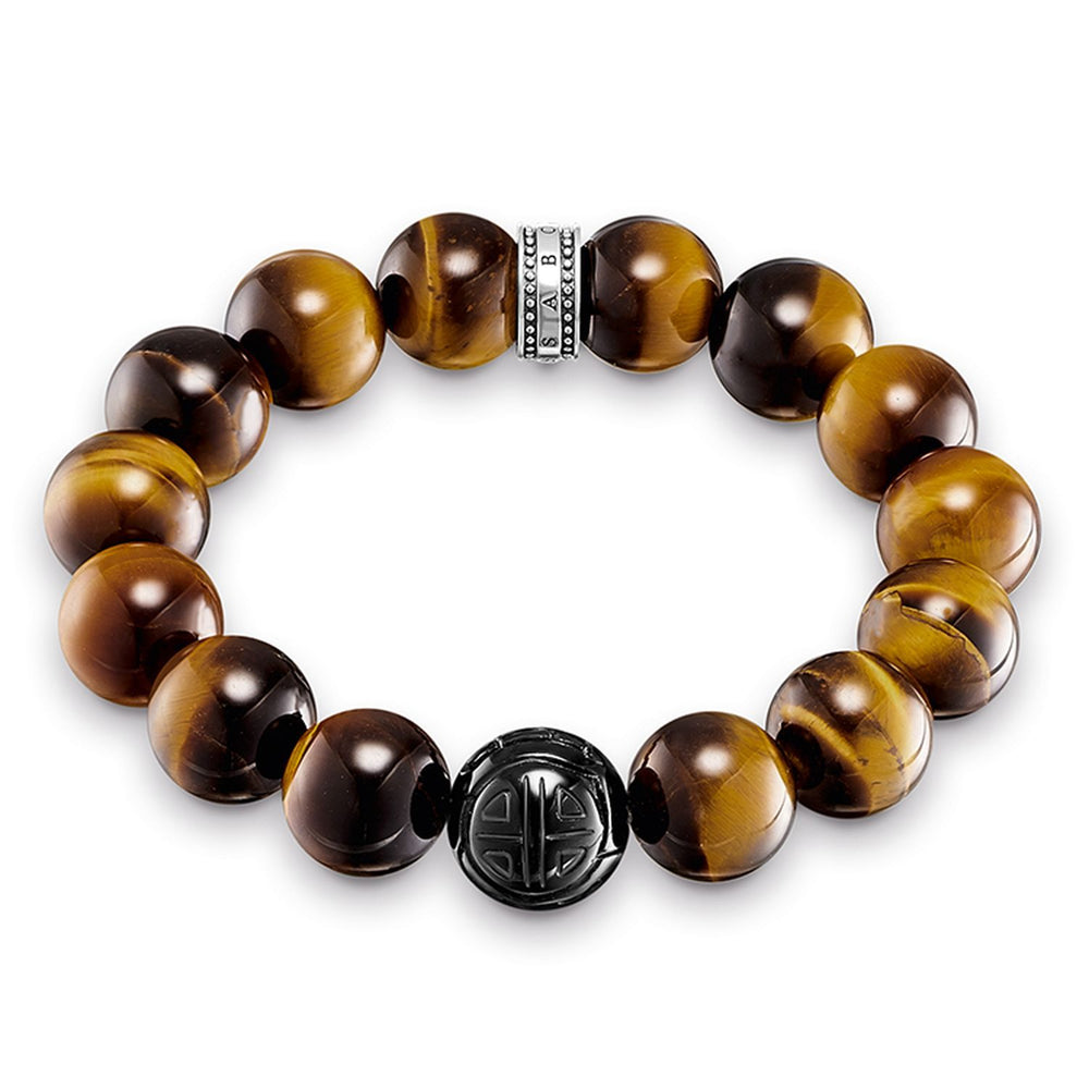 "Bracelet ""Power Bracelet Brown"" - THOMAS SABO Thailand"