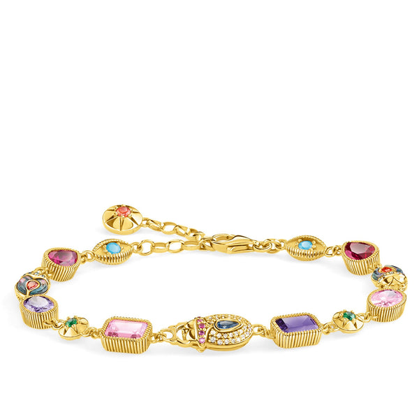 Bracelet Large lucky charms, gold - THOMAS SABO Thailand