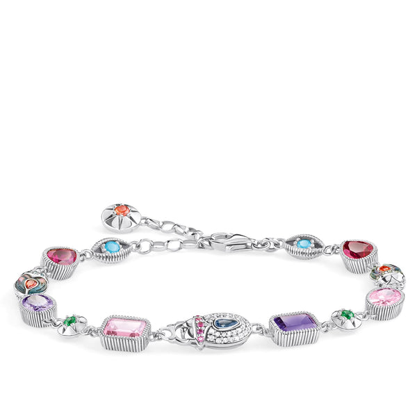 Bracelet Large lucky charms, silver - THOMAS SABO Thailand