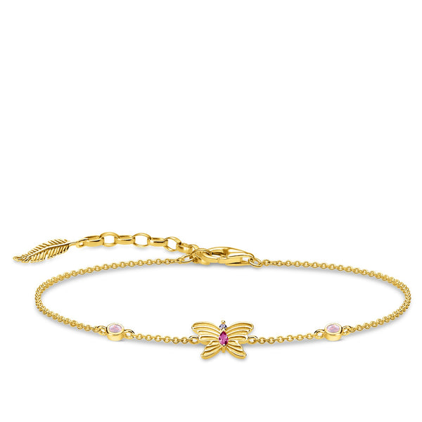 bracelet butterfly gold - THOMAS SABO Thailand