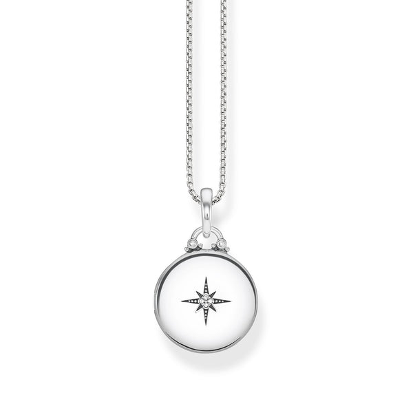 "Necklace ""Locket silver round"" - THOMAS SABO Thailand"