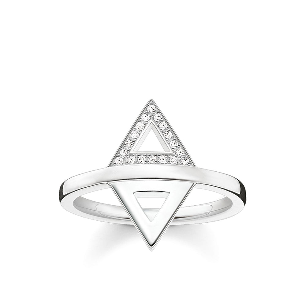 "Ring ""Triangle"" - THOMAS SABO Thailand"