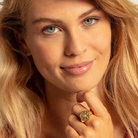 "Ring ""Vintage compass gold"" - THOMAS SABO Thailand"