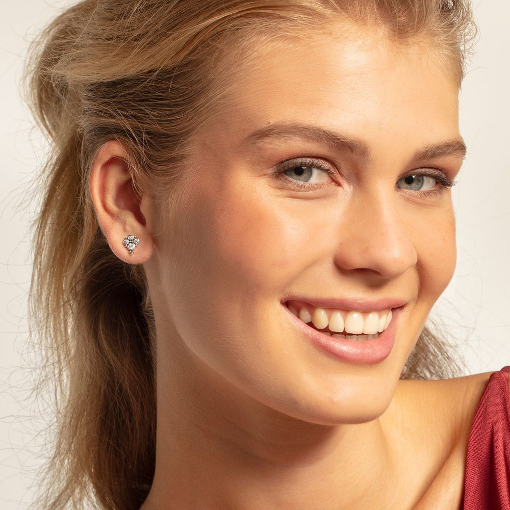 "Ear Studs ""Royalty White"" - THOMAS SABO Thailand"