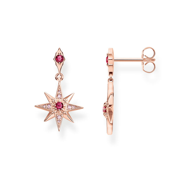 Earrings star pink - THOMAS SABO Thailand
