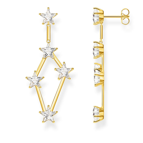 Earrings stars gold - THOMAS SABO Thailand