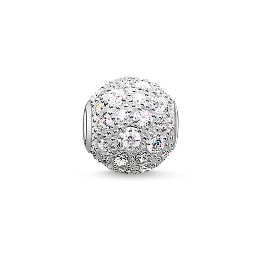 "Bead ""White Crushed Pavé"" - THOMAS SABO Thailand"