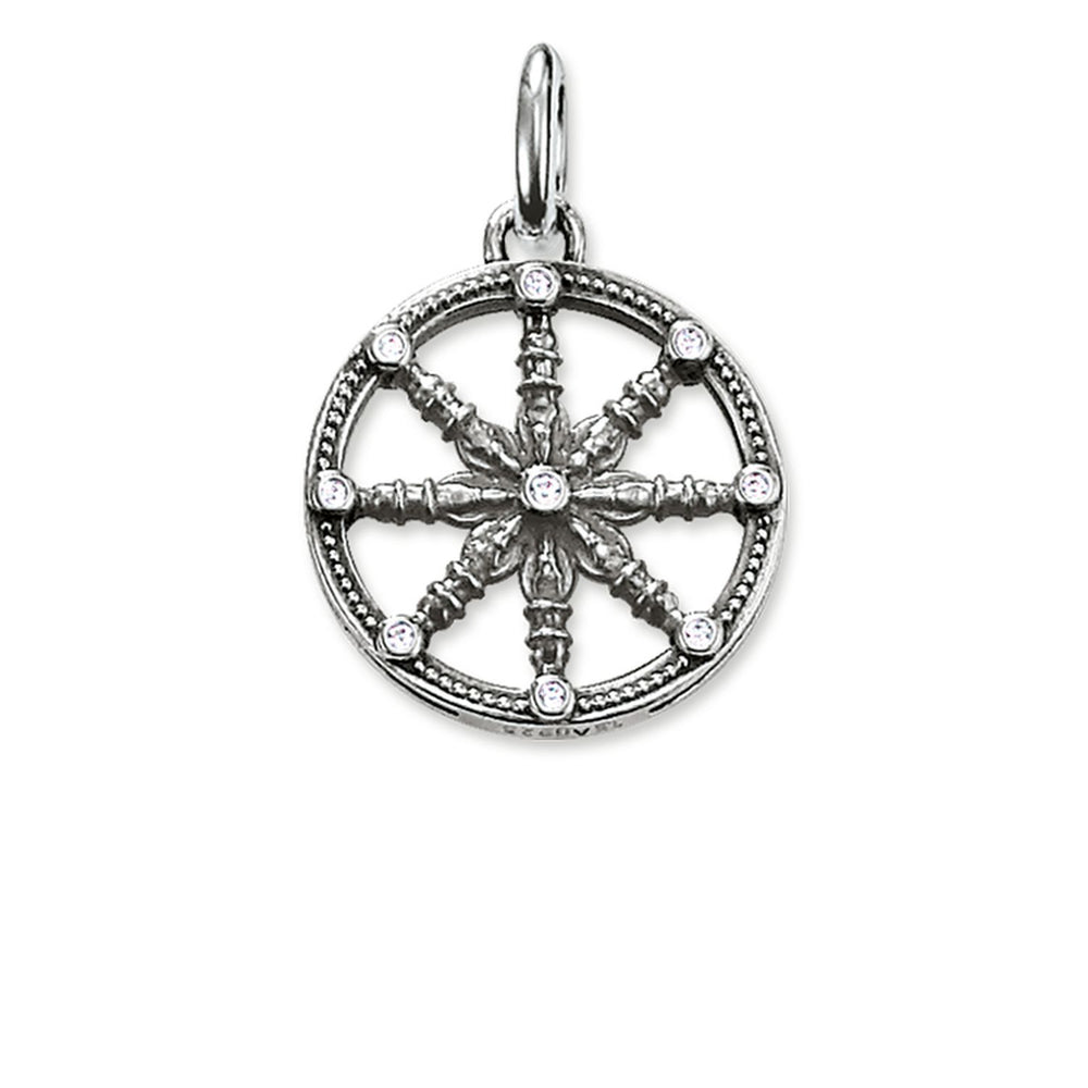 "Pendant ""Karma Wheel Small"" - THOMAS SABO Thailand"