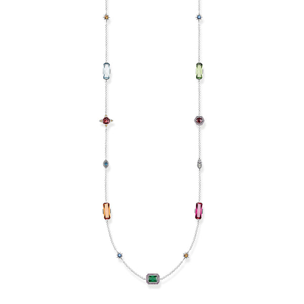 Necklace Colourful Stones - THOMAS SABO Thailand