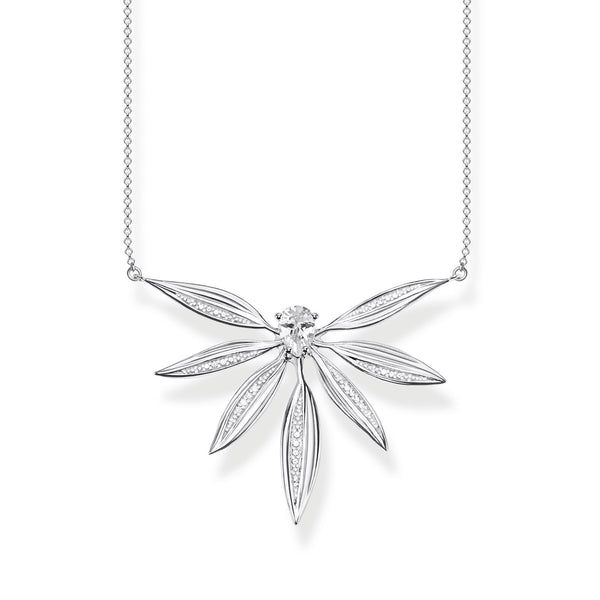 necklace leaves large silver - THOMAS SABO Thailand