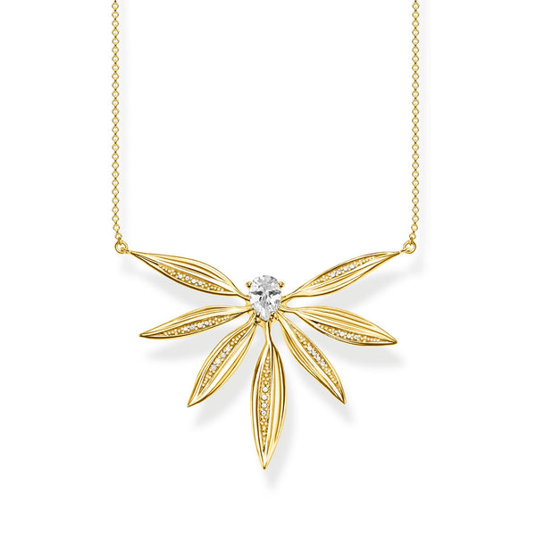 necklace leaves large gold - THOMAS SABO Thailand