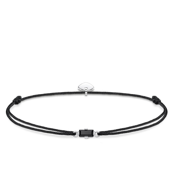 Bracelet Little Secret Black stone Baguette cut - THOMAS SABO Thailand