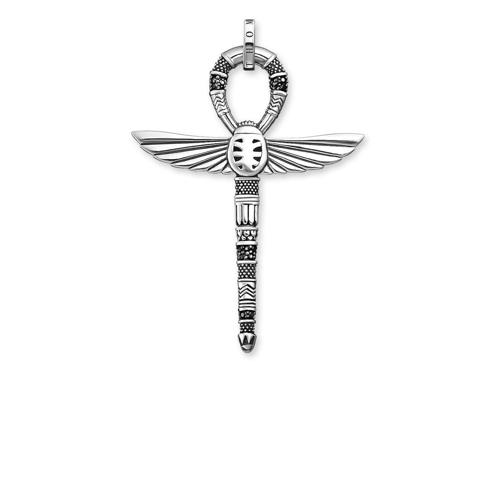 "Pendant ""Cross Of Life Ankh With Scarab"" - THOMAS SABO THAILAND"