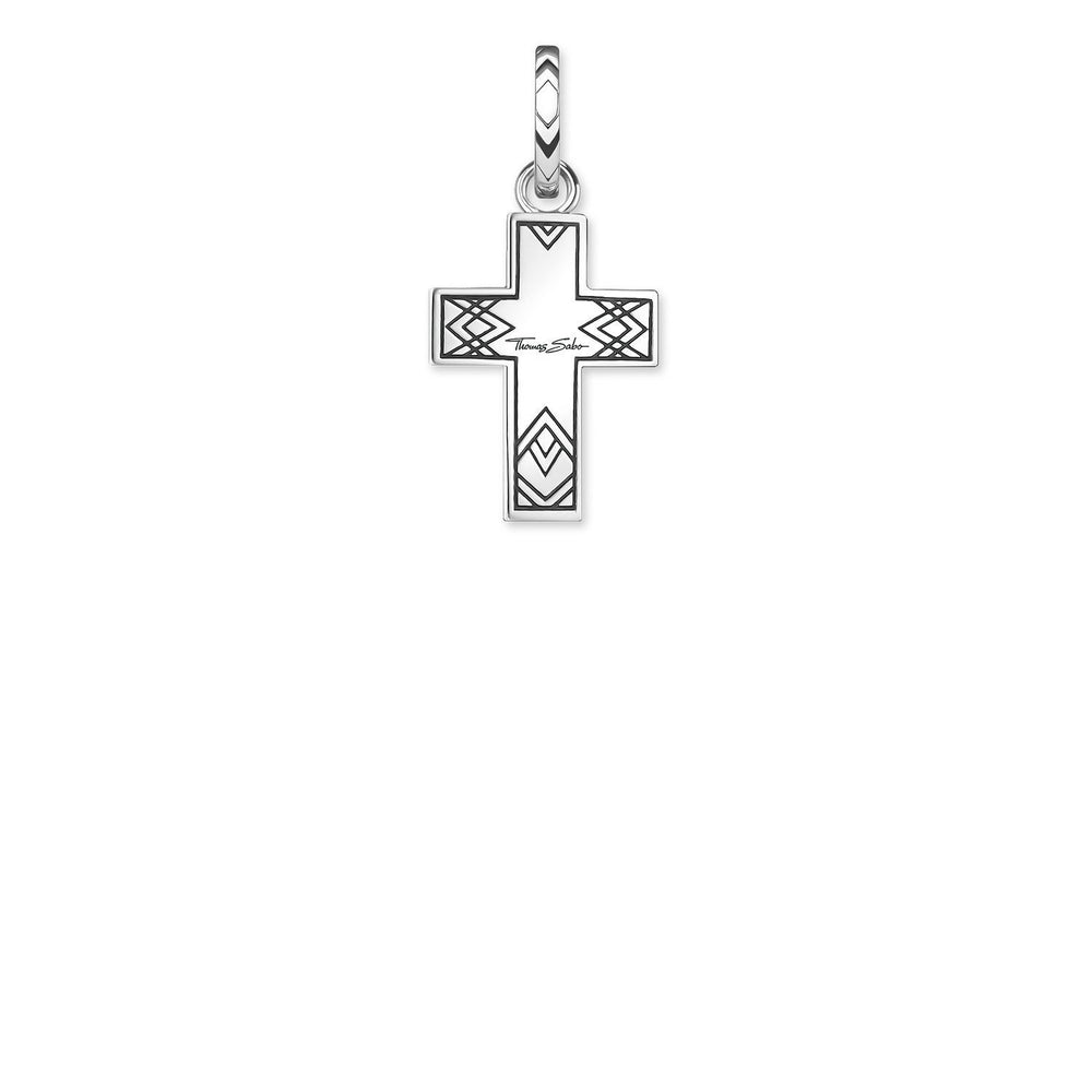 "Pendant ""Cross Abalone Mother-of-pearl"" - THOMAS SABO Thailand"