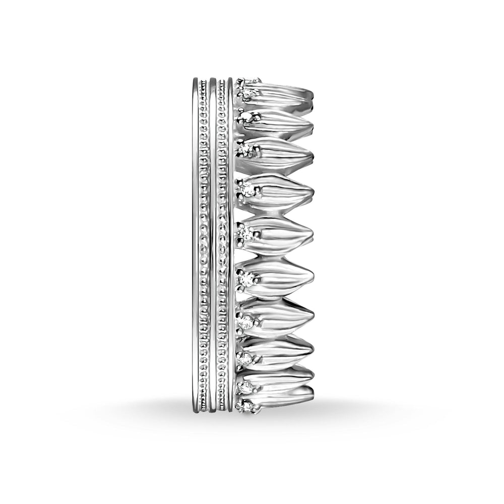 RING LEAVES CROWN SILVER - THOMAS SABO Thailand